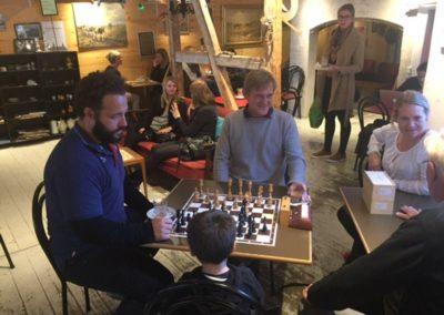 Hyggestund med skak